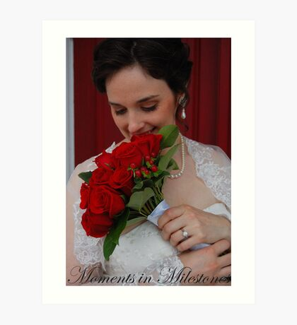 Bridal Portrait- #2 Art Print