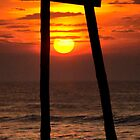 Sunrise Pier Ruins by KellyHeaton