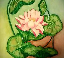 Lotus Painting by plunder