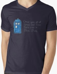 Once upon all of space and time... Mens V-Neck T-Shirt