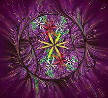 Loonie Flowers by Pam Amos