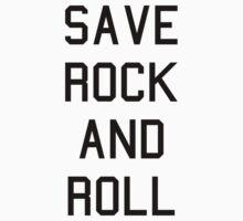 SAVE ROCK AND ROLL by Matt LeBlanc