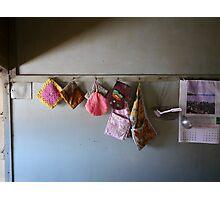 Oven mitt dispenser Photographic Print