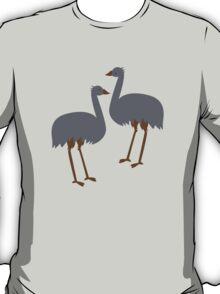 EMU's Australian native running bird T-Shirt