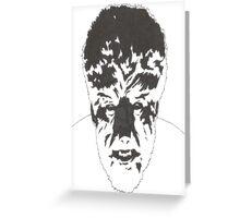 Wolfman Greeting Card