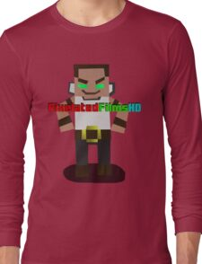 Mr. Pixel Long Sleeve T-Shirt