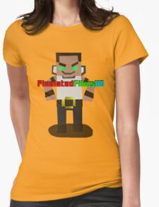 Mr. Pixel Womens Fitted T-Shirt
