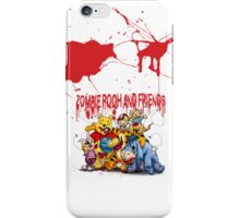Zombie Pooh and Friends iPhone Case/Skin