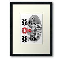 Raymond Chandler, Philip Marlowe, The Big Sleep. Framed Print