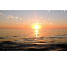 The Spectacular Sunset. Photographic Print