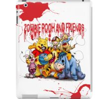 Zombie Pooh and Friends iPad Case/Skin