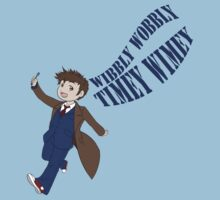 Timey Wimey 10th Doctor One Piece - Short Sleeve