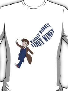 Timey Wimey 10th Doctor T-Shirt