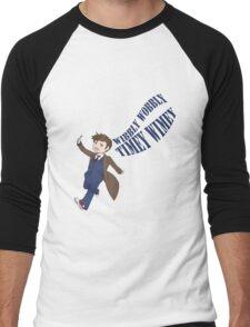 Timey Wimey 10th Doctor Men's Baseball ¾ T-Shirt