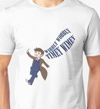 Timey Wimey 10th Doctor Unisex T-Shirt