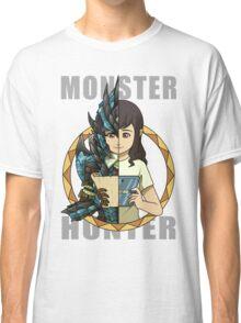 Hunter's Life (Azure Rathalos G) (F) Classic T-Shirt