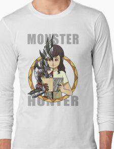 Hunter's Life (Silver Rathalos G) (F) Long Sleeve T-Shirt
