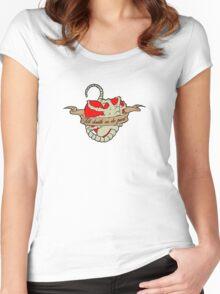 Alien Heart Women's Fitted Scoop T-Shirt