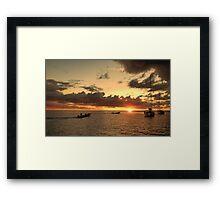 "Evening ""Rush Hour"" Framed Print"