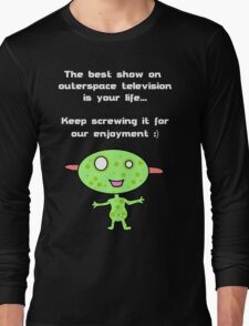 Space Broadcast Long Sleeve T-Shirt