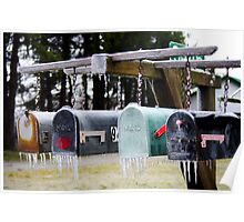 Frozen Mail... Poster
