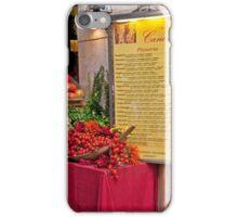 Fresh Ingredients iPhone Case/Skin