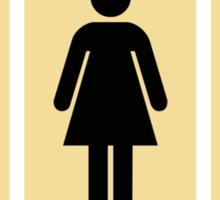 Bathroom Doors Sticker