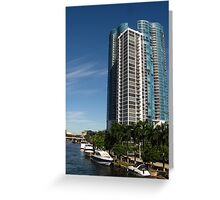 Las Olas River House Greeting Card