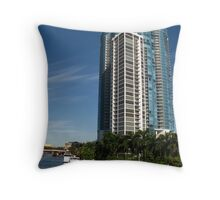 Las Olas River House Throw Pillow