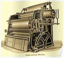 Cloth Washing Machine Poster