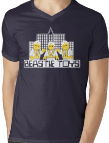 Beastie Toys Mens V-Neck T-Shirt