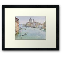 Grand canal of Venice Framed Print