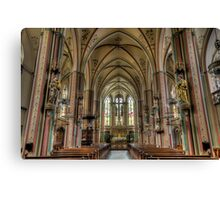 the most beautiful church Canvas Print