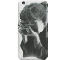 Reality in a camera iPhone Case/Skin