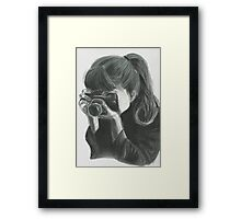 Reality in a camera Framed Print