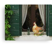 Venetian fowl Canvas Print