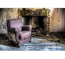 abandoned villa Photographic Print