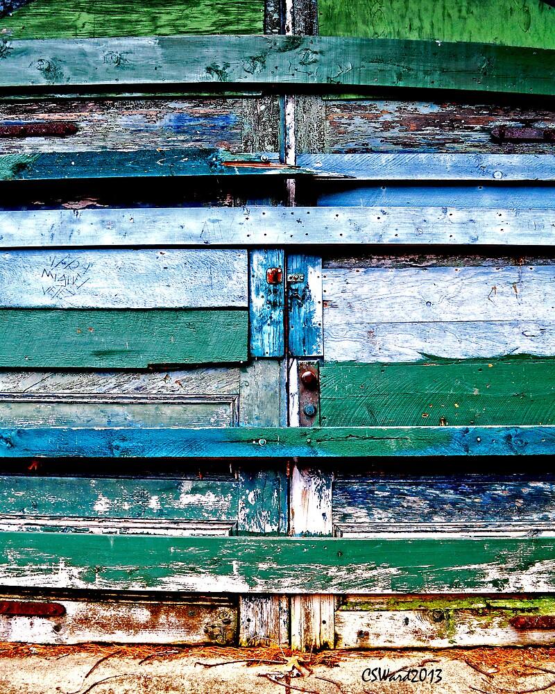Color Palette on Barn Doors by Caleb Ward