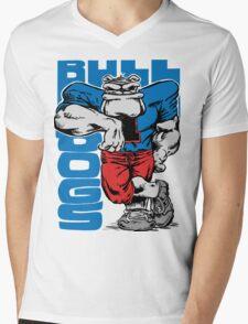 bull dogs Mens V-Neck T-Shirt
