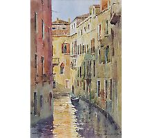 Streets and canals of Venice Photographic Print