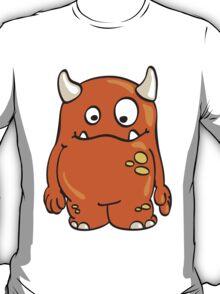 Cool orange Monster T-Shirt