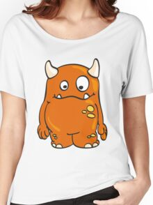 Cool orange Monster Women's Relaxed Fit T-Shirt