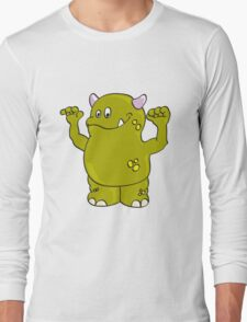 Cool green Monster Long Sleeve T-Shirt