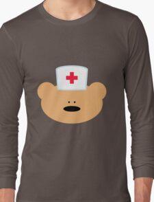 Teddy Bear Nurse Long Sleeve T-Shirt
