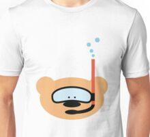 Teddy bear diver Unisex T-Shirt