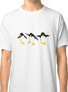 Three dancing Penguins Classic T-Shirt