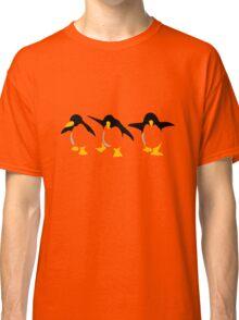 Three dancing Penguins Classic T-Shirt