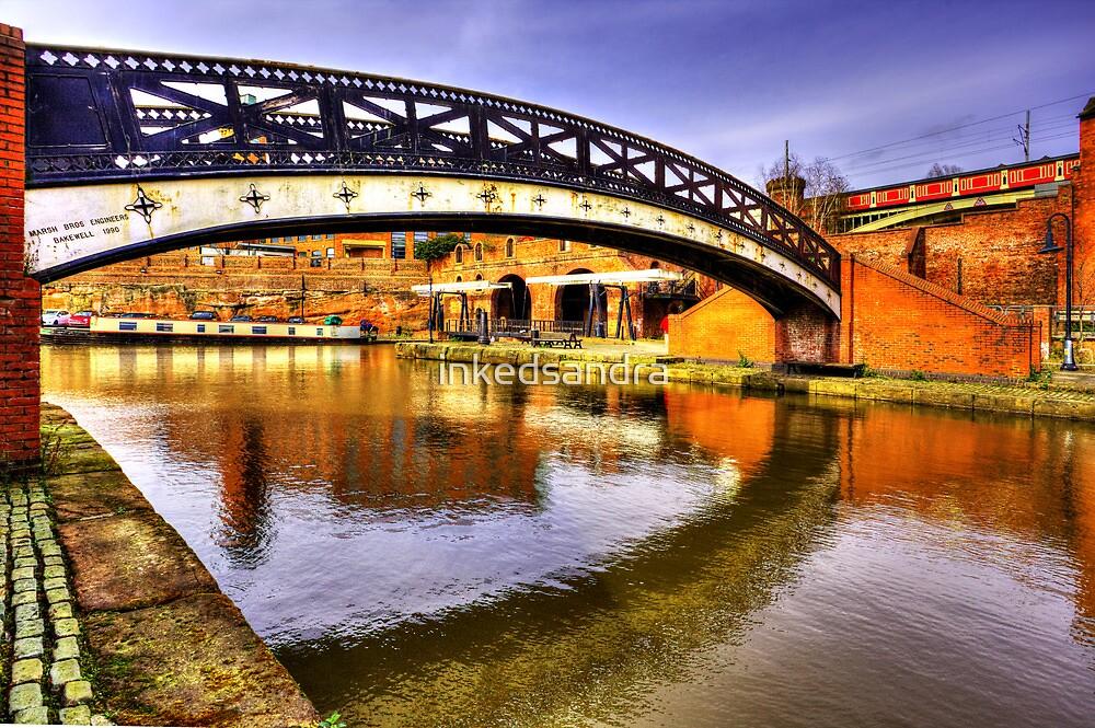 Bridge over the River medlock by inkedsandra