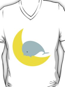 Whale jumping over the Moon T-Shirt