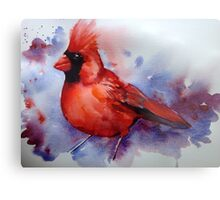 The Cardinal returns Metal Print